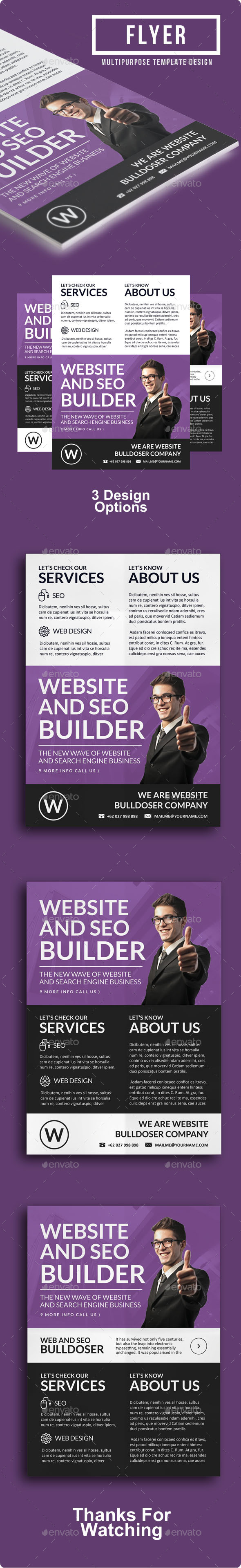 GraphicRiver Multipurpose Business Flyer Vol 7 8848649