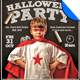 Kid's Class Halloween Party Flyer Template - GraphicRiver Item for Sale