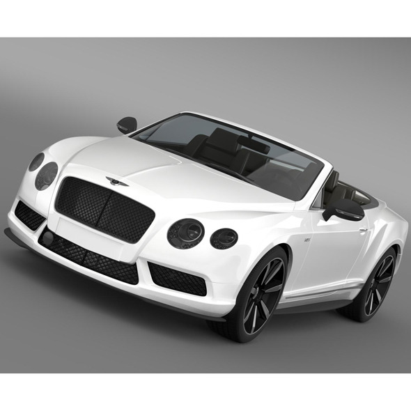 Bentley Continental GT V8 S Convertible 2014
