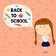 Back to School Little Girl  - GraphicRiver Item for Sale