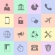 Hand Drawn Flat Icons - GraphicRiver Item for Sale