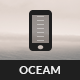 Oceam | Mobile & Tablet Template