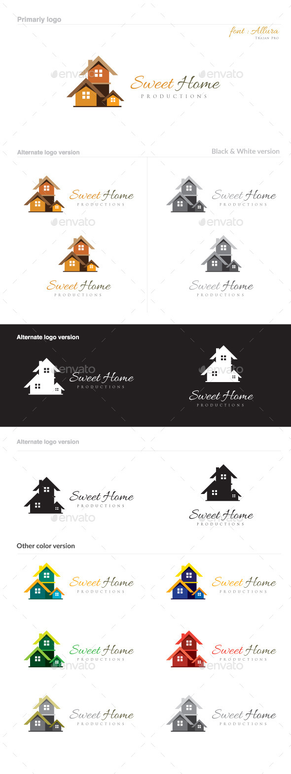 GraphicRiver Sweet Home 8782939