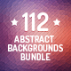 112 Abstract Backgrounds Bundle - GraphicRiver Item for Sale