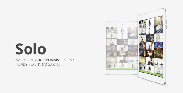 Solo, Grid Responsive Multipurpose Magazine