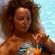 Woman Relaxing Near Pool with Fresh Juice - VideoHive Item for Sale