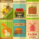 Set of Posters Farm Fresh - GraphicRiver Item for Sale
