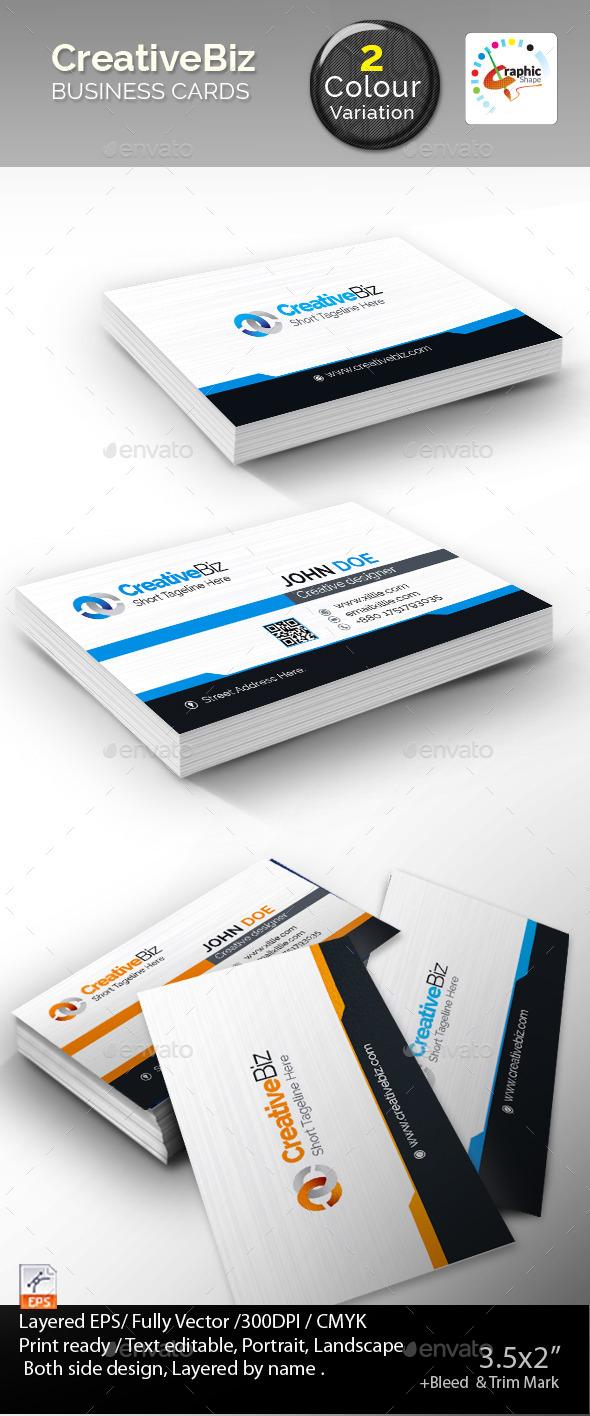 GraphicRiver Corporate Business Cards 8852672