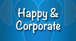 Happy and Corporate