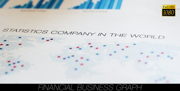 Financial Business Graph 9