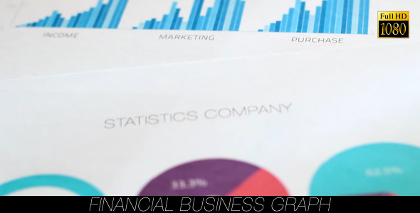 Financial Business Graph 14