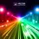 Colorful Night Road - GraphicRiver Item for Sale
