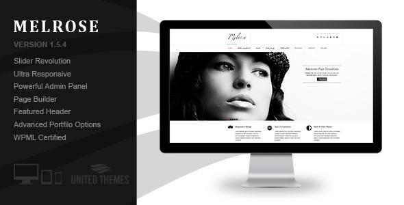 Melrose - Responsive Portfolio WordPress Theme - Portfolio Creative