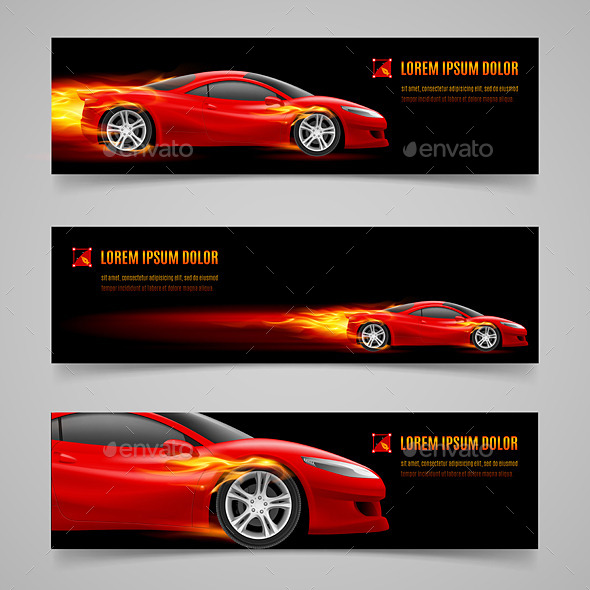 GraphicRiver Flaming Speed 8853386