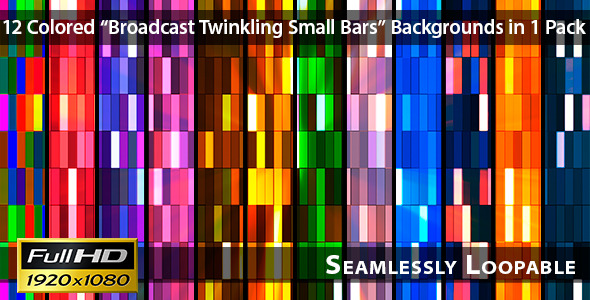 Broadcast Twinkling Small Bars Pack 03