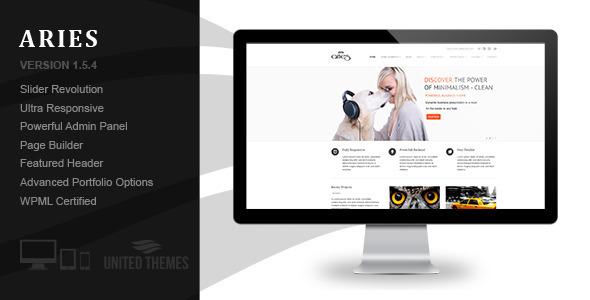Aries - Responsive Business WordPress Theme - Business Corporate