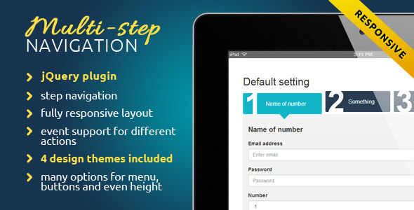 CodeCanyon Step Form Wizard 8591111