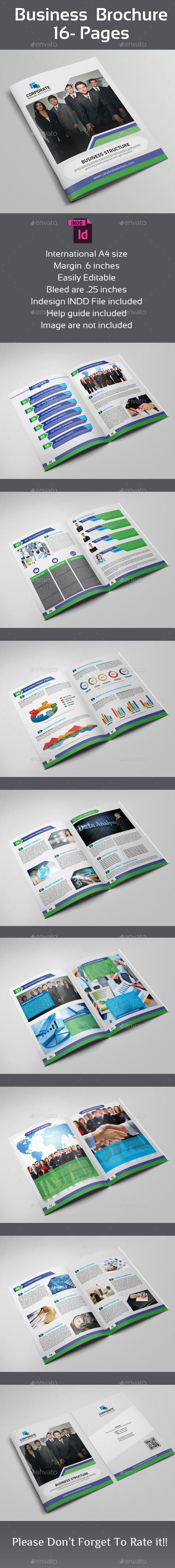 GraphicRiver Business Brochure- 16 Pages 8853492
