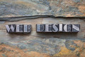 web design in metal type - PhotoDune Item for Sale