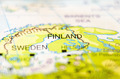 finland country on map - PhotoDune Item for Sale
