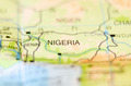 nigeria country on map - PhotoDune Item for Sale