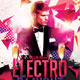Electro Live Guest Dj Party Flyer  - GraphicRiver Item for Sale