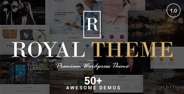 ThemeForest Royal Multi-Purpose Wordpress Theme 8611976