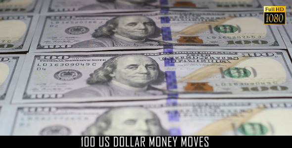 100 US Dollar Money Moves 5