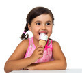 Little girl with ice cream - PhotoDune Item for Sale