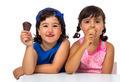 Kid,s couple with ice cream - PhotoDune Item for Sale