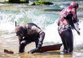 Spear fisherman - PhotoDune Item for Sale
