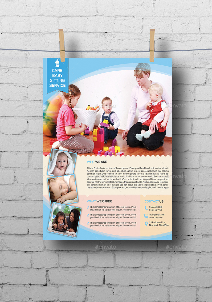 babysitting daycare flyer template by elitely graphicriver babysitting daycare flyer template commerce flyers · 00 jpg 01 jpg 02 jpg 03 jpg 04 jpg