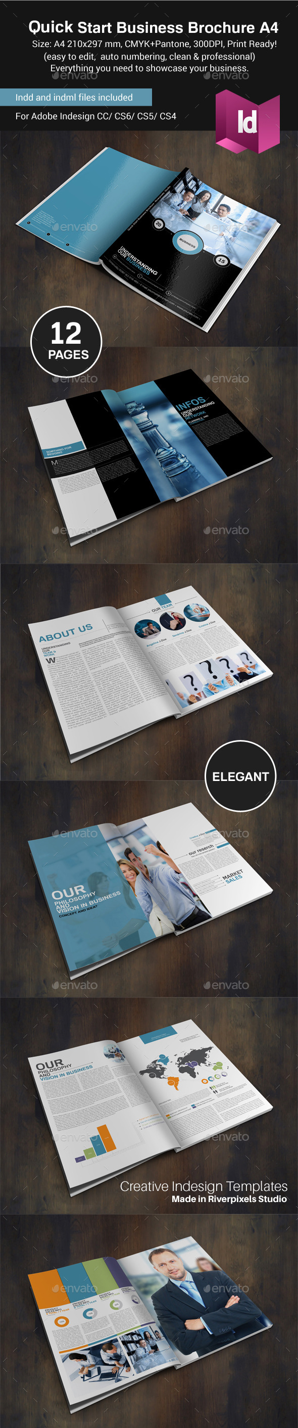 GraphicRiver Quick Start Business Portrait Version 8847698