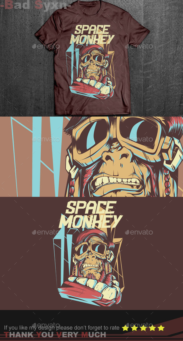 GraphicRiver Space Monkey 8854688