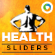 Health & Fitness Sliders - GraphicRiver Item for Sale