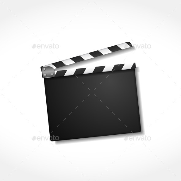 GraphicRiver Clapper Board 8855144