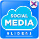 Social Media Sliders - GraphicRiver Item for Sale