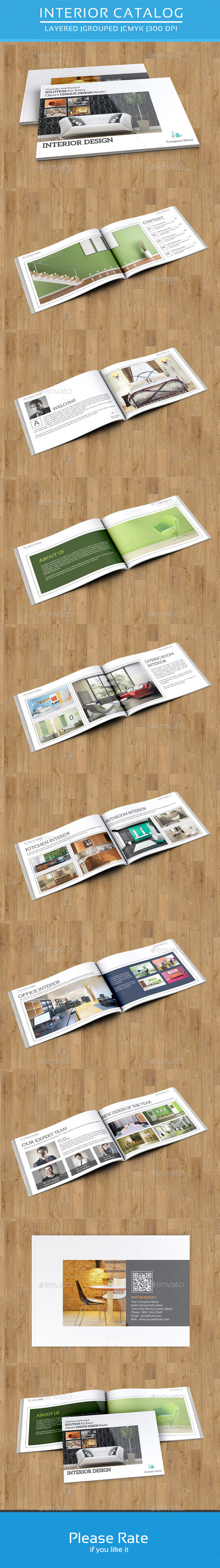 GraphicRiver Interior Catalog Template-V36 8855813