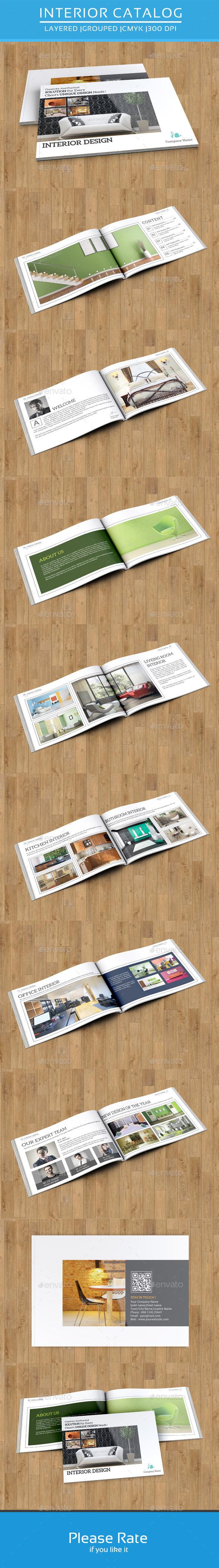Interior Catalog Template-V36