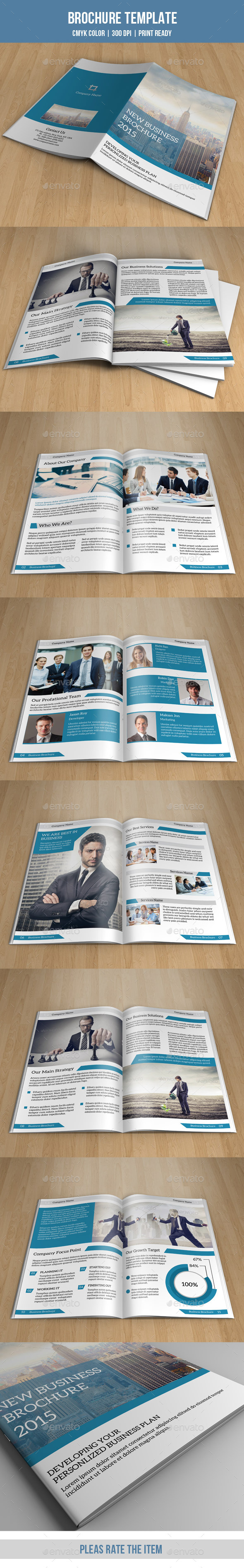 GraphicRiver Bifold Business Brochure-V132 8855867