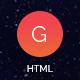 Link toGalactica – creative multi-purpose html template