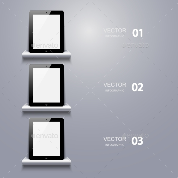 GraphicRiver Computer Tablet Infographic 8855970