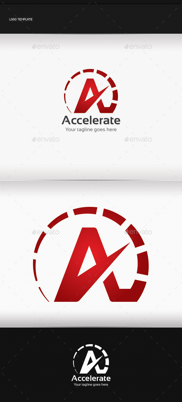 GraphicRiver Accelerate Logo 8855969