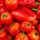 Tomatoes, cucumbers and peppers. - PhotoDune Item for Sale