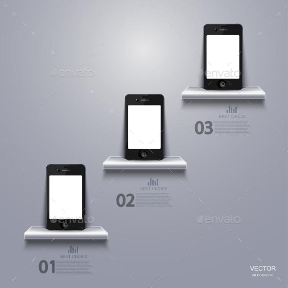 GraphicRiver Smartphone Infographic 8855976