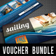 3 in 1 Boat Sailing Gift Voucher Bundle 01 - GraphicRiver Item for Sale