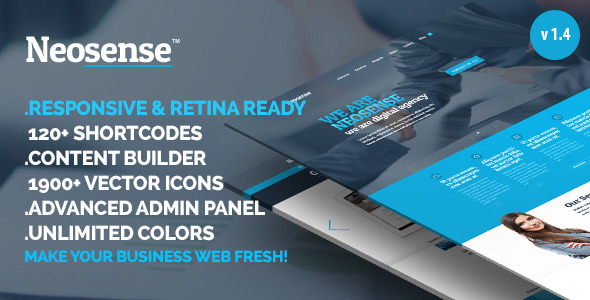 Neosense -  Multipurpose Wordpress theme - WordPress