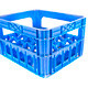 blue plastic storage box crate on a white - PhotoDune Item for Sale