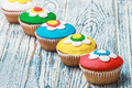 cupcakes covered with mastic - PhotoDune Item for Sale