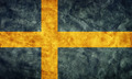 Sweden grunge flag. Item from my vintage, retro flags collection - PhotoDune Item for Sale